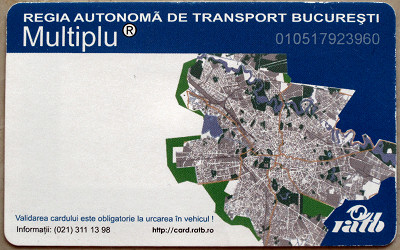 billets de RATB,   abonamemts-métro en Roumanie -des infos Ticket